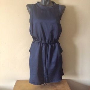 Banana Republic draw string dress
